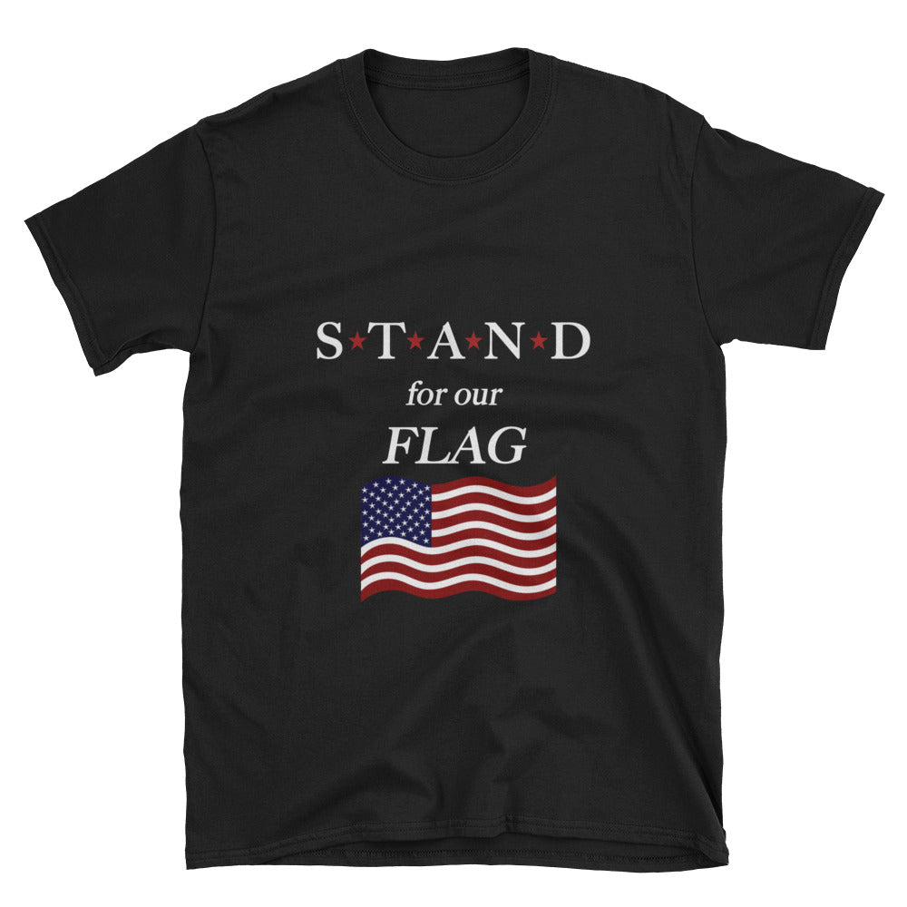 STAND- Flag Star Short-Sleeve Unisex T-Shirt