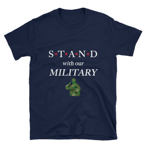 STAND- Military Camo Short-Sleeve Unisex T-Shirt
