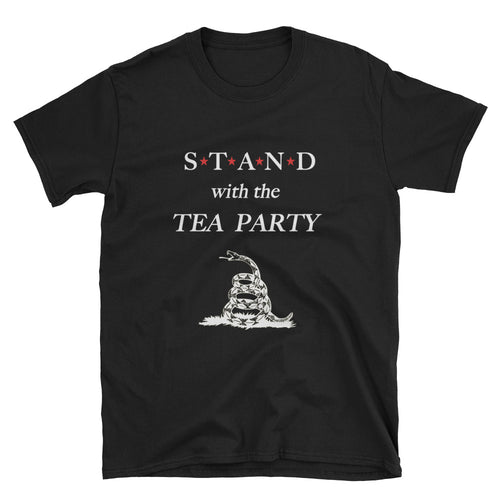 STAND- Tea Party White Short-Sleeve Unisex T-Shirt