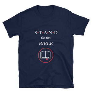 STAND- Bible Red Short-Sleeve Unisex T-Shirt