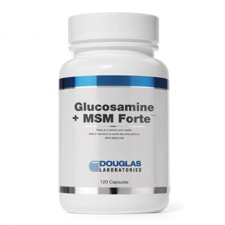 Glucosamine + MSM Forte™ - To help maintain healthy joint and muscle structure†