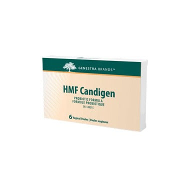 Genestra HMF Candigen Female Probiotic Suppositories