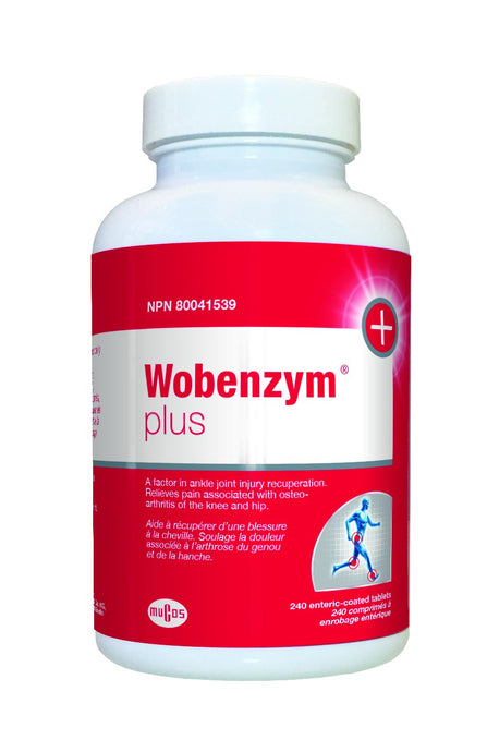 Wobenzym®Plus- Inflammation, Joint & Sports Injury Support