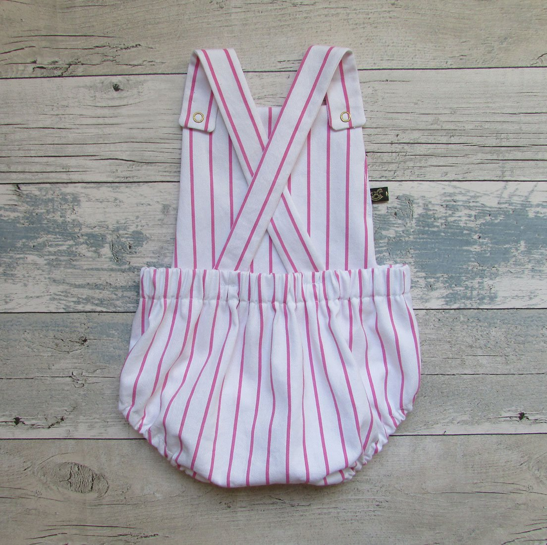 Candy stripe summer romper