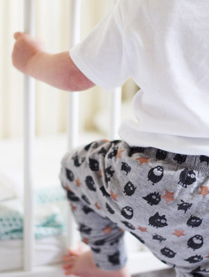 Little Monster Baby Leggings