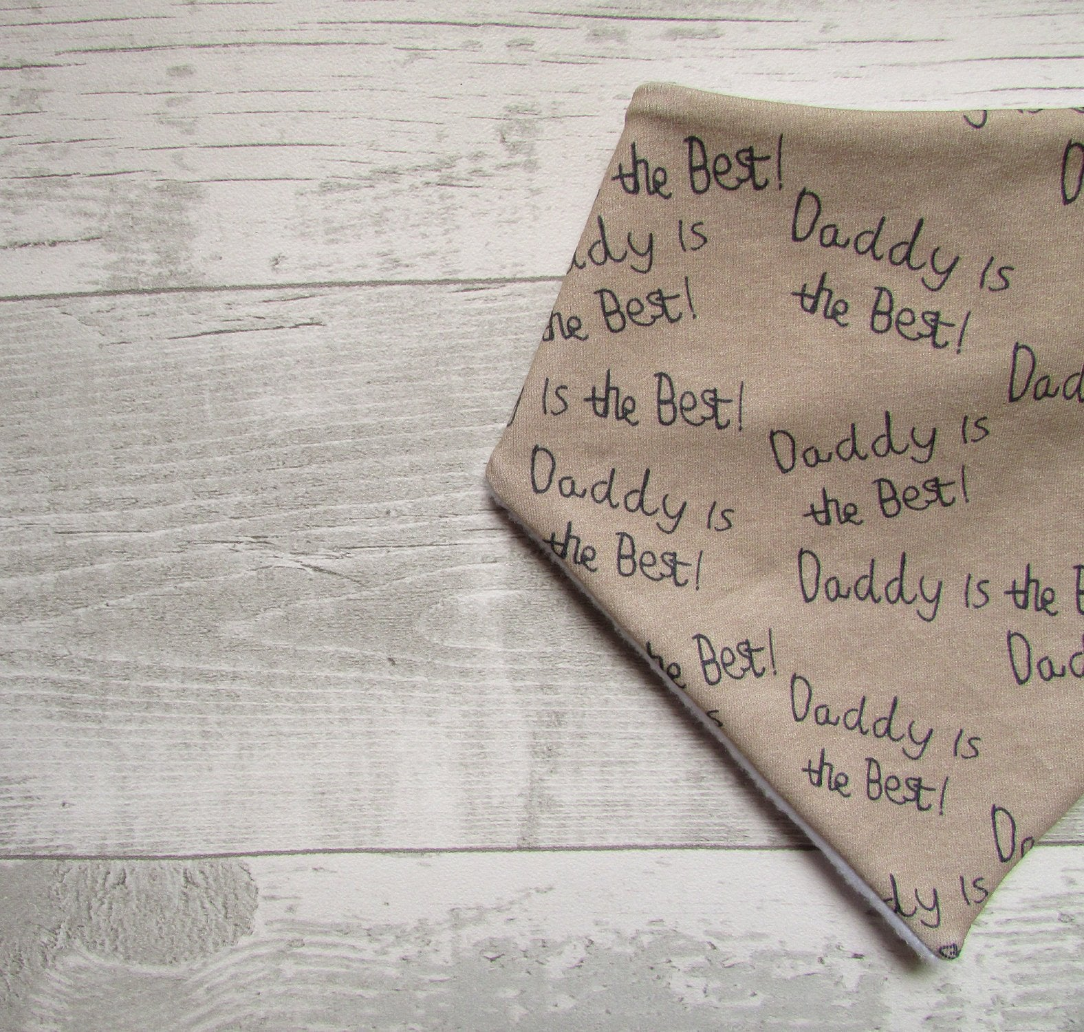 Daddy Is The Best Baby Bib