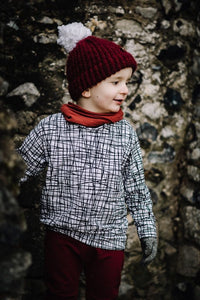 Children's Monochrome Jumper