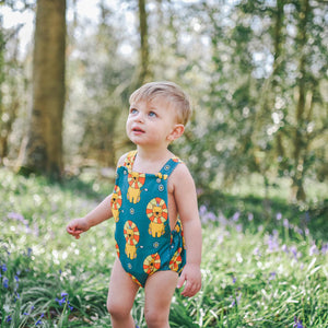 Baby and Toddler Romper With Circus Lion Design