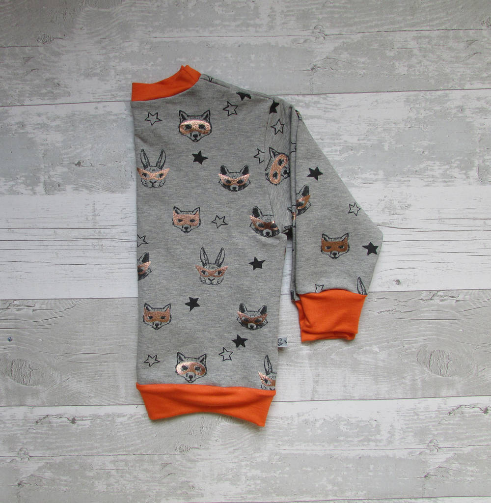 Animals In Masks Baby And Toddler Jumper