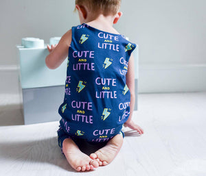 Cute And Little Baby And Child Dungarees