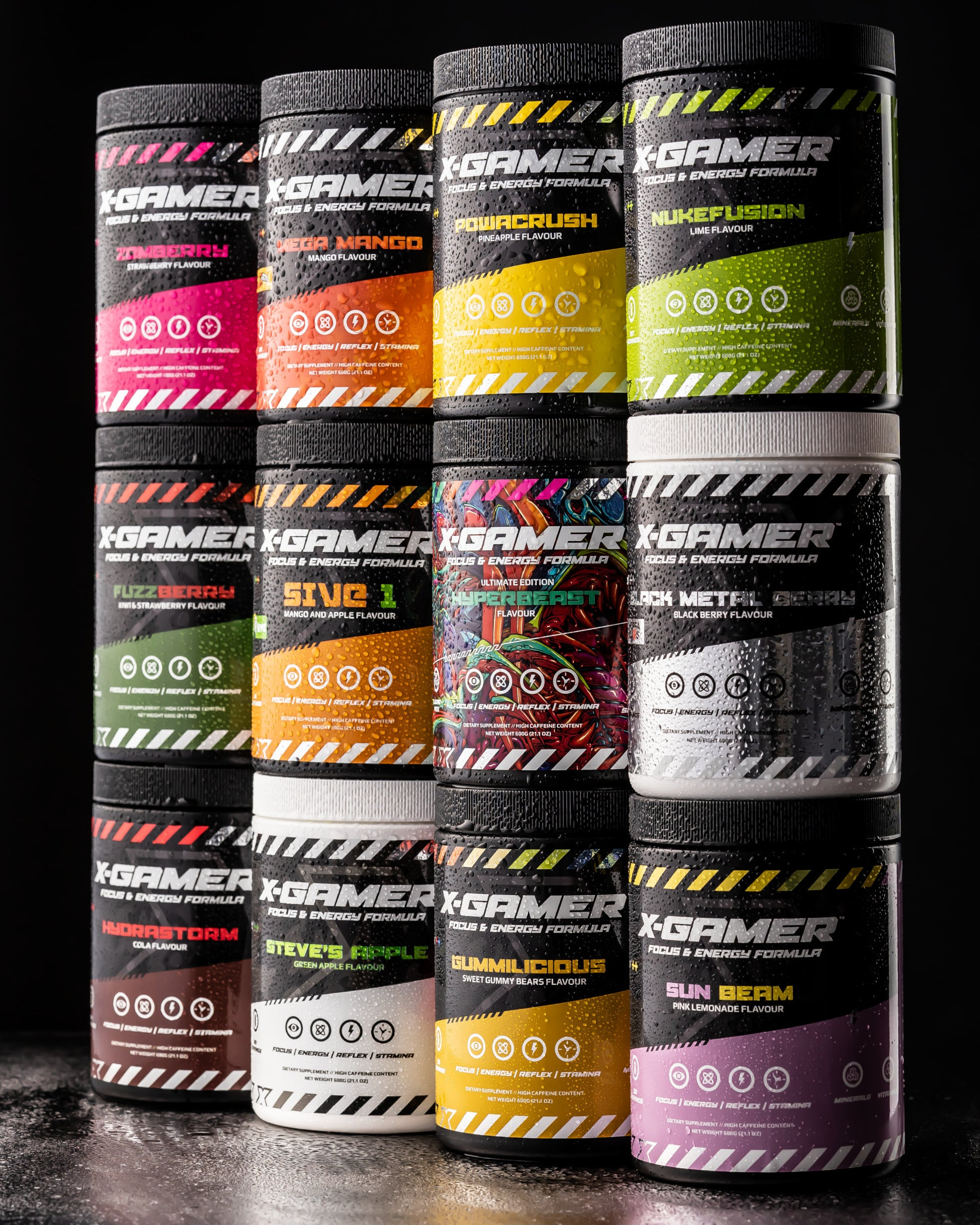 all x-gamer flavours