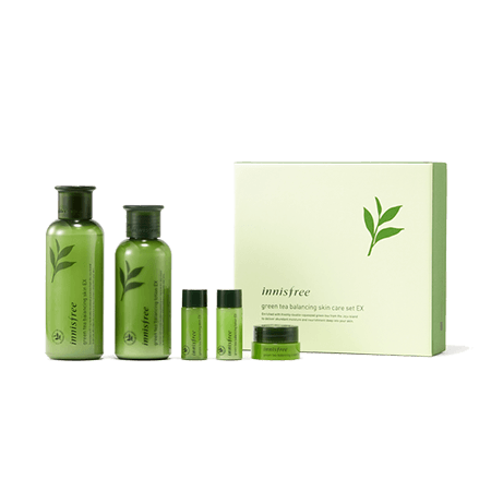 Green Tea Balancing Skin Care Set
