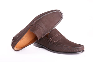 Orion Penny Loafer | Chamoix T. Moro