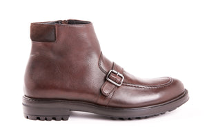 Mid Boot Buckle | Café