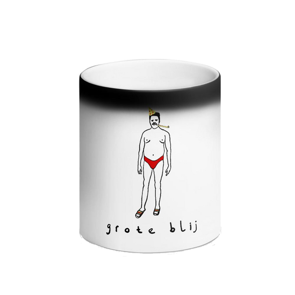 Black Magic Mug - Grote blij