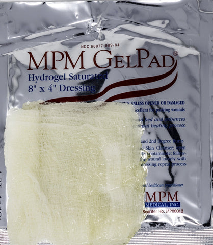 GelPad®Hydrogel Saturated Gauze Dressing - MPM Medical