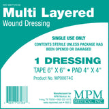 Multi-Layered Bordered Composite Dressings - MPM Medical