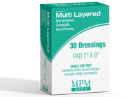 Multi-Layered Non-Bordered Composite Dressings - MPM Medical
