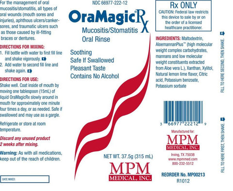OraMagic®Rx - Oral Wound Care - MPM Medical