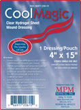 CoolMagic Hydrogel Sheet Dressing - MPM Medical