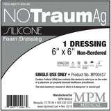 NoTraum AG - Silicone Foam Dressings w/ Silver - MPM Medical
