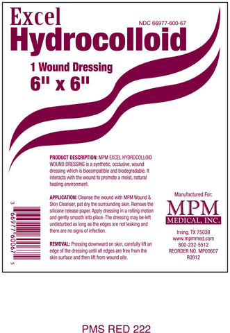 Excel Hydrocolloid   Shop Wound Care Products, Dressings