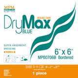 DryMax Blue w/ Adhesive Border - MPM Medical