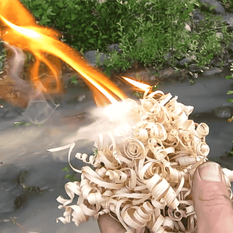 bushcraft fire tinder at wylies outdoor world