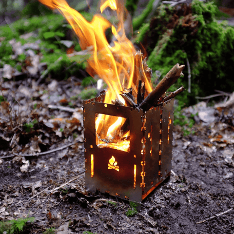 Bushcraft, hiking and camping small portable wood burning stoves at wylies outdoor world