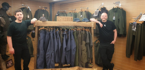 Wylies Outdoor World Takes a tour at Keela