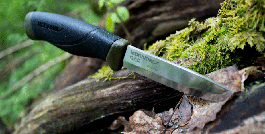 Mora Bushcraft, Camping and Carving Knives