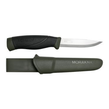 Mora Knives, Morakniv Companion Heavy Duty - Carbon Steel, Fixed Blade Bushcraft Knives,Wylies Outdoor World,