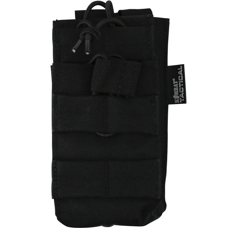 Kombat UK, Single Duo Mag Pouch, Pouches,Wylies Outdoor World,
