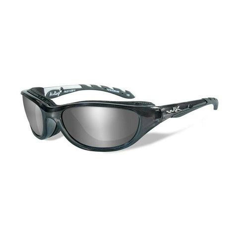 Wiley X, Wiley X AIRRAGE Pol Grey Silver Flash Crystal Metallic Frame, Men's Eyewear, Wylies Outdoor World,