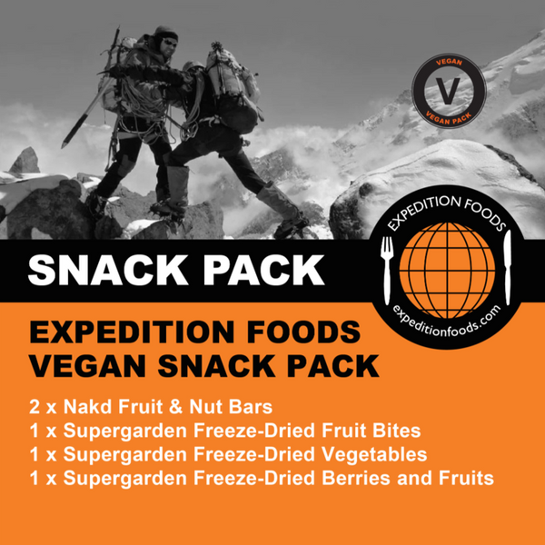 Expedition Foods, Expedition Foods - Vegan Snack Pack, Day Ration Packs, Wylies Outdoor World,