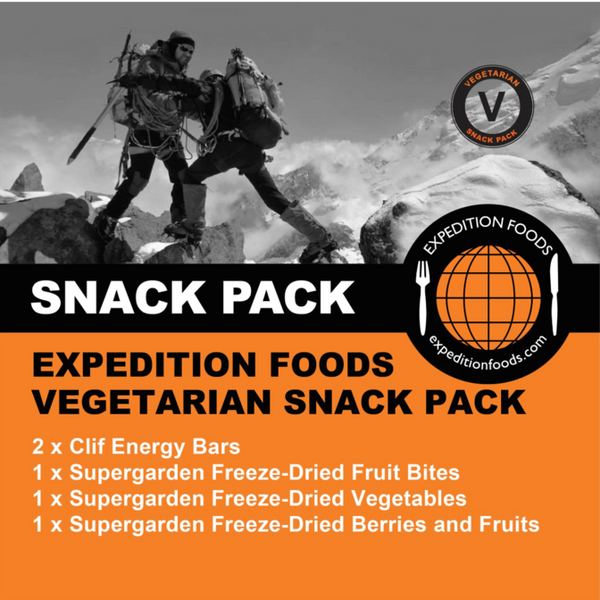Expedition Foods, Expedition Foods - Vegetarian Snack Pack, Day Ration Packs, Wylies Outdoor World,