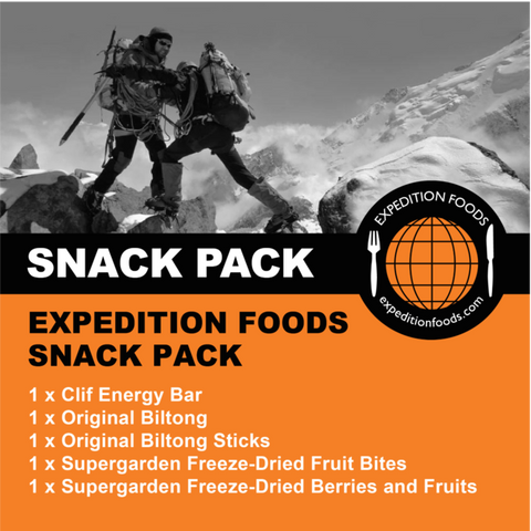 Expedition Foods, Expedition Foods - Snack Pack, Day Ration Packs, Wylies Outdoor World,