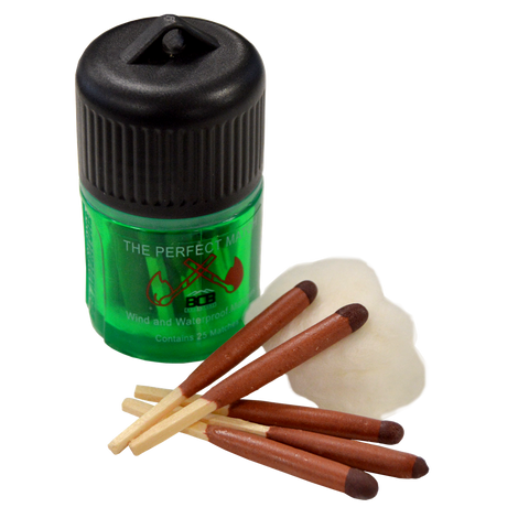 BCB, BCB - Wind and Waterproof Matches, Waterproof Matches & Lighters, Wylies Outdoor World,