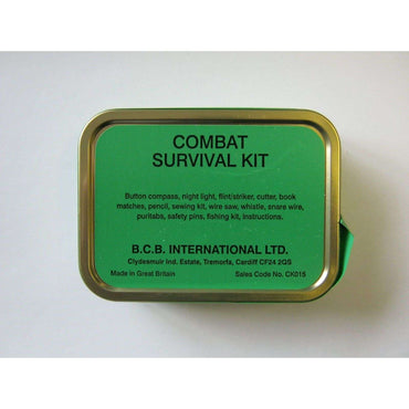 BCB, BCB Combat Survival Tin, Survival Kits, Wylies Outdoor World,
