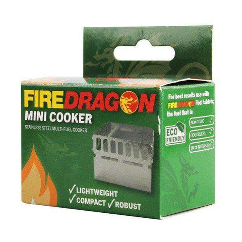BCB, BCB FireDragon Mini Cooker, Solid Fuel Stoves, Wylies Outdoor World,