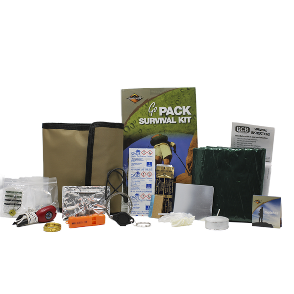 BCB, BCB Go Pack, Survival Kits, Wylies Outdoor World,
