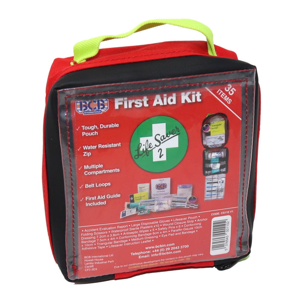 BCB, BCB Lifesaver #2 First Aid Kit (Intermediate), First Aid Kits, Wylies Outdoor World,