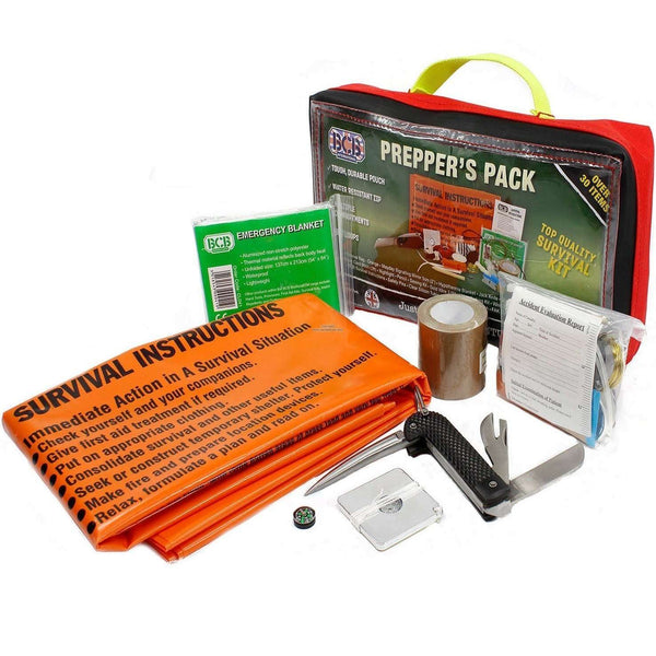 BCB, BCB Prepper's Pack, Survival Kits, Wylies Outdoor World,