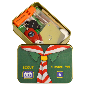BCB, BCB Scout Survival Tin, Survival Kits, Wylies Outdoor World,