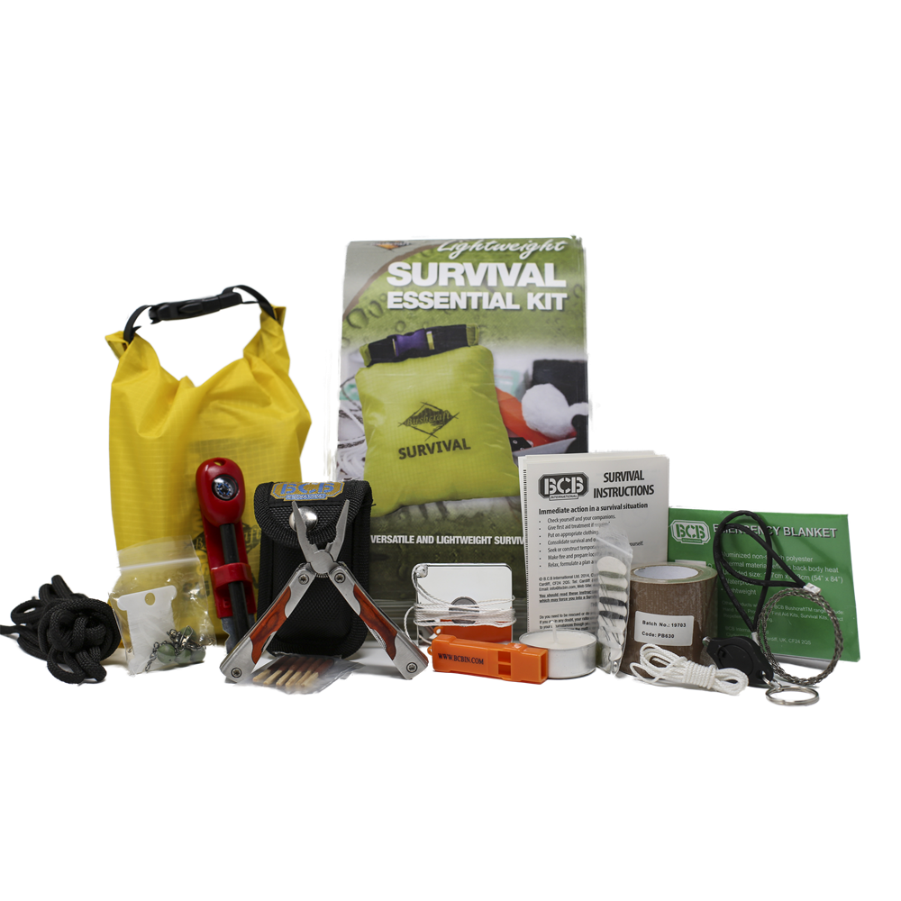 BCB, BCB Survival Essentials Kit, Survival Kits, Wylies Outdoor World,
