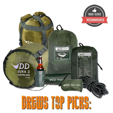 DD Hammocks, DD All Season Hammock Deal, Camping Sleep & Shelter Packages,Wylies Outdoor World,