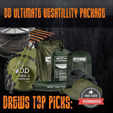 DD Hammocks, DD Ultimate Versatility Package, Camping Sleep & Shelter Packages, Wylies Outdoor World,