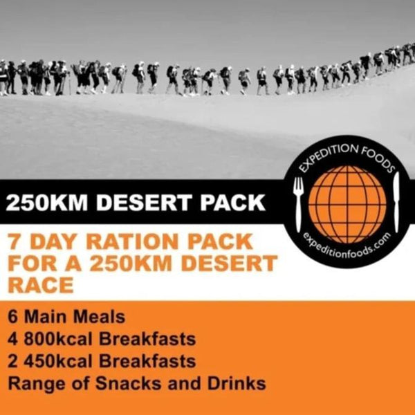 Expedition Foods, Expedition Foods - 250km Desert Race Nutrition Pack, Day Ration Packs, Wylies Outdoor World,