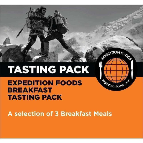 Expedition Foods, Expedition Foods - Breakfast Tasting Pack, Freeze Dried Meals, Wylies Outdoor World,