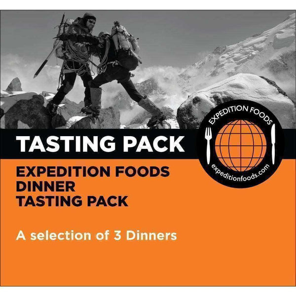 Expedition Foods, Expedition Foods - Dinner Tasting Pack (High Energy), Freeze Dried Meals, Wylies Outdoor World,